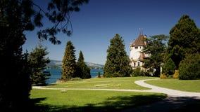 Swiss Castle Royalty Free Stock Photos
