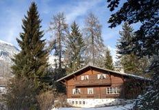 Free Swiss Chalet Stock Photos - 13404733