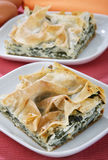 Swiss chard pie Royalty Free Stock Photos