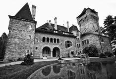 Swiss chateau Stock Image