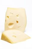 Swiss cheese Royalty Free Stock Photography
