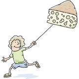 Swiss Cheese Kite Royalty Free Stock Photos
