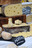Swiss cheese stock photography