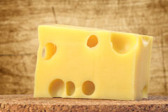 Swiss cheese Royalty Free Stock Photos