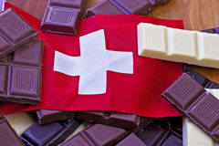 Swiss chocolate Royalty Free Stock Photography