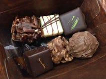 Swiss Chocolate. Combination type of swiss homemade chocolate Royalty Free Stock Image