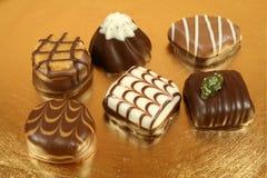 Swiss chocolates Stock Photography