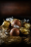 Swiss Christmas Truffles Stock Photos