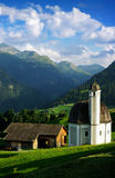 Swiss church Stock Photography