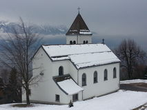 Swiss church Royalty Free Stock Image