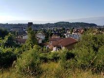 Swiss city Stock Photos
