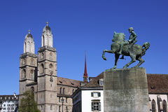 Swiss City Zurich Royalty Free Stock Photography