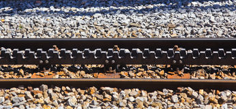 Swiss Cog Railway. Cog railway in Switzerland to enable train to climb steep gradient Royalty Free Stock Image