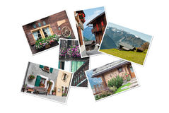 Swiss Collage Royalty Free Stock Images