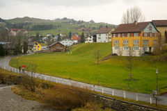 Swiss countryside, in Appenzell Royalty Free Stock Photo