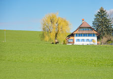 The Swiss Countryside Royalty Free Stock Images