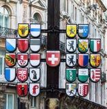 Swiss Court Cantonal Tree. London. England Royalty Free Stock Photography