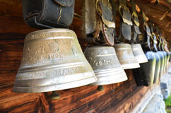 Swiss cowbells Stock Image