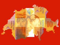Swiss currency Royalty Free Stock Image