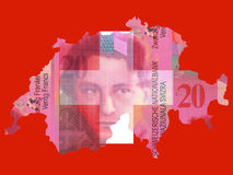 Swiss currency Royalty Free Stock Images
