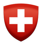 Swiss ensign Stock Photo