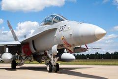 Swiss F-18 Royalty Free Stock Photo