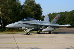 SWISS F -18 HORNET Stock Image