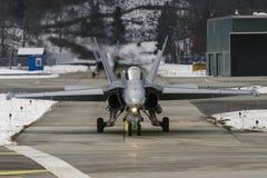 Swiss FA 18 Hornet  Stock Image
