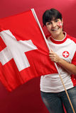 Swiss fan stock images