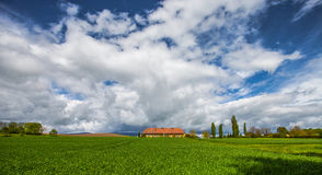 Swiss Farm House Royalty Free Stock Photography