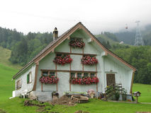 Swiss farmers house Stock Photography