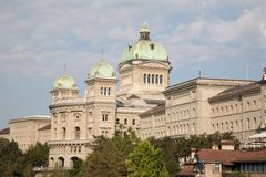 Swiss Federal Assembly; Bern Royalty Free Stock Photos