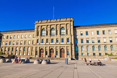 Swiss Federal Institute Of Technology. Main Building In Zurich Royalty Free Stock Image