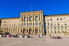 Swiss Federal Institute Of Technology. Zurich, Switzerland - June 10, 2017: Swiss Federal Institute Of Technology Main Building In Zurich Royalty Free Stock Photo