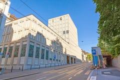 Swiss Federal Institute Of Technology. Zurich, Switzerland - June 10, 2017: Swiss Federal Institute Of Technology Main Building In Zurich Stock Photo