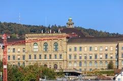Swiss Federal Institute of Technology in Zurich. Zurich, Switzerland - 25 September, 2016: building of the Swiss Federal Institute of Technology in Zurich, view Stock Photo