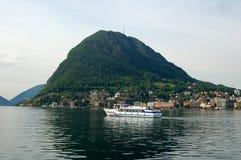Swiss Ferry Stock Photo