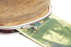 Swiss fifty francs Stock Photography