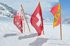 Swiss flag Stock Image