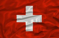Swiss Flag 3 Stock Photos