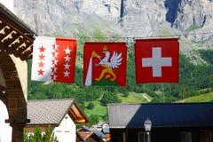 Swiss flag Royalty Free Stock Photo
