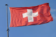 Swiss, flag Royalty Free Stock Photography
