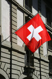 Swiss flag stock images