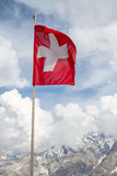 Swiss Flag Royalty Free Stock Photos