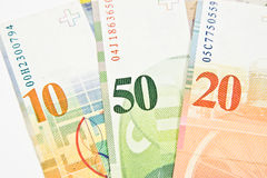 Swiss Franc Royalty Free Stock Photo