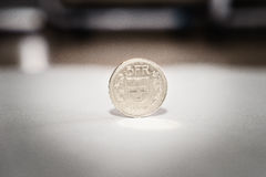 Swiss franc coins Royalty Free Stock Photography