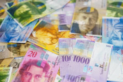 Swiss Franc Stock Photos