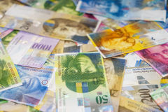 Swiss Franc Royalty Free Stock Images