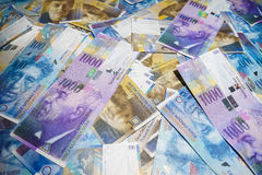 Swiss Franc Royalty Free Stock Photography