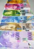Swiss Franc Stock Image